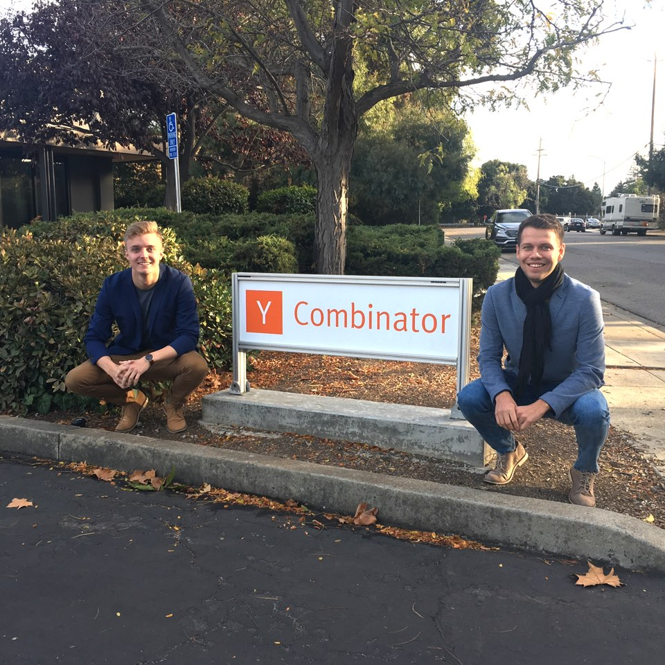 aarel and Janer in Y Combinator